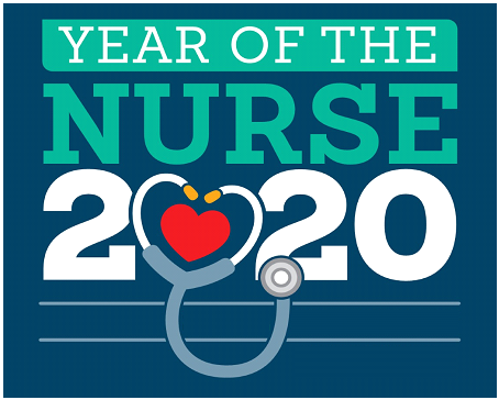 Year of the Nurse 2020 Logo